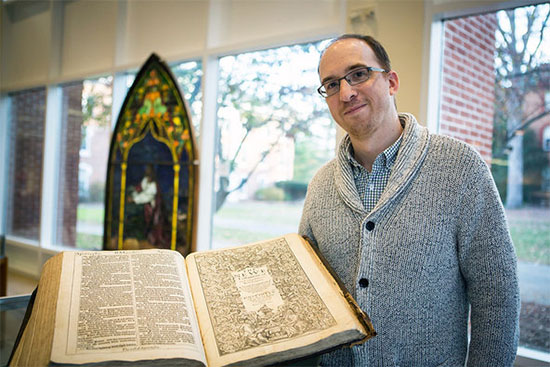 rare King James Bible at Drew