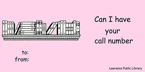 Library Valentines