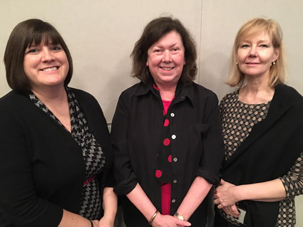 Kimberly, Pat & Janice, LibraryLinkNJ Membership Meeting Fall 2016