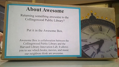 Collingswood PL's Awesome Box