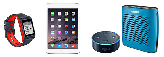 MentorNJ Networking Event Raffles - iPad mini 4, Pebble 2 smart watch, Amazon Echo Dot with Bluetooth speaker and more