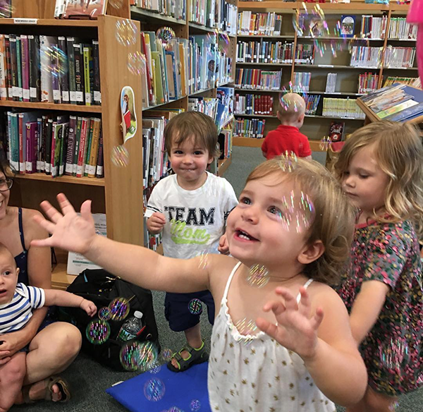 Cutie's Day at Worth-Pinkham Memorial Library