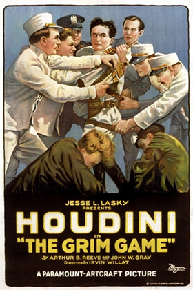 Lost Houdini film restored at NYU