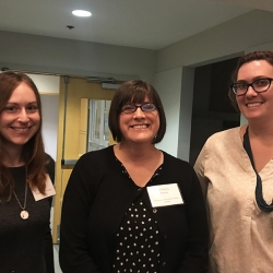 Group Challenge Facilitators - (from the left) Erica Krivopal, Kimberly Paone, and Maryjean Bakaletz