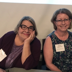 Representing MentorNJ Funding Organizations: Joanne Roukens, LibraryLinkNJ & Kathleen Moeller-Peiffer, NJSL