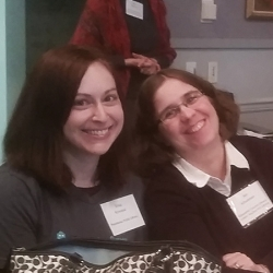 Erica Krivopal (Piscataway Public Library) and Jen Schureman (Gloucester County Library System)