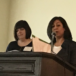 Kimberly Paone & Ranjna Das (Burlington County Library System & LibraryLinkNJ Executive Board)