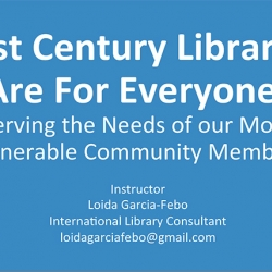 Keynote - 21st Century Libraries Are For Everyone