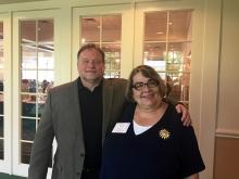 Robert Lackie (Professor Librarian, Rider Univ.) & Joanne Roukens (Assistant Director, LibraryLinkNJ)